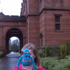 Loopy at Kelvingrove.