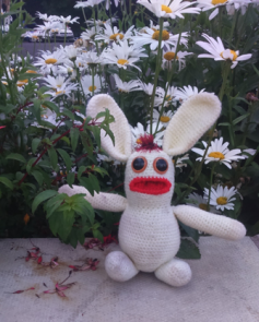 The next day dawned bright, and having shaken the cobwebs out of his head from the beer festival the night before, Bananas Bunny excitedly got himself ready to go to a cider festival at 'Owd Nell's Thatched Tavern.