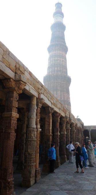 Qutab Minar tower, Delhi.
