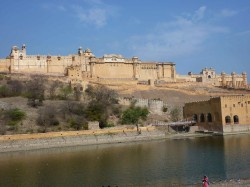 The Amber Fort in Jaipur.
