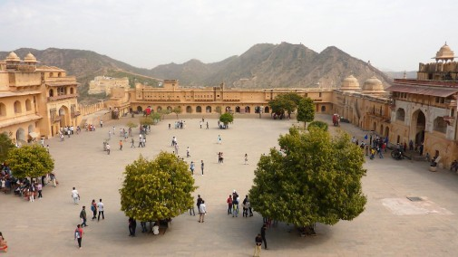 Another view of the Amber Fort.