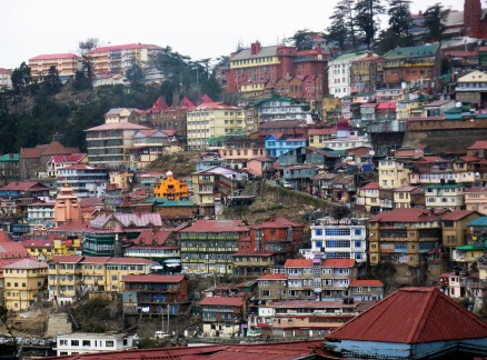 The colours of Shimla.