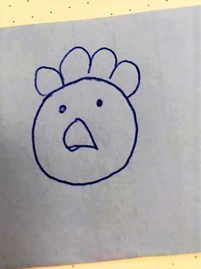 Nadine's drawing.