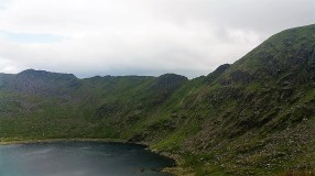 ...and we could see the fun times which awaited us in Striding Edge later that afternoon.